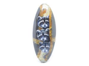 Аукцион. Еноты на симбирците. Ярмарка Мастеров - ручная работа, handmade.