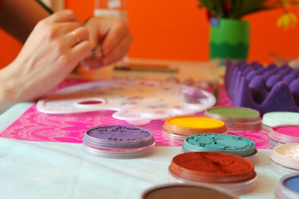 обучение, арт-студия, полимерная глина, интерьер