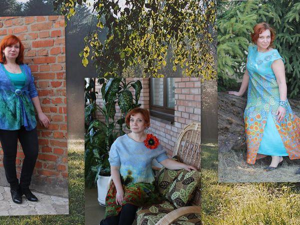 МК Летнее воздушное  платье или туника. | Ярмарка Мастеров - ручная работа, handmade