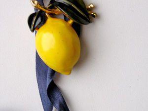 Лимон   Ярмарка Мастеров - ручная работа, handmade