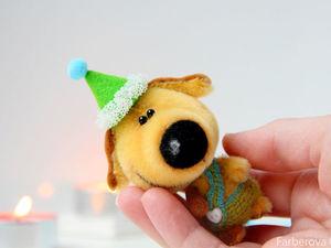 Собака - символ 2018 Нового Года!. Ярмарка Мастеров - ручная работа, handmade.