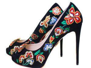 Туфли с вышивкой by Anastasia Suvaryan (видео) | Ярмарка Мастеров - ручная работа, handmade