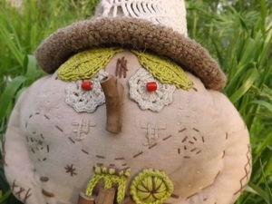 Кукла Леший, лесной дед с корзинкой. Ярмарка Мастеров - ручная работа, handmade.