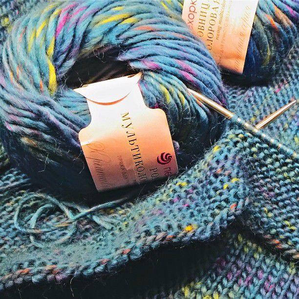 машинное вязание, ровница