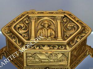 Раритетище Шкатулка Шекспир бронза Франция 23. Ярмарка Мастеров - ручная работа, handmade.