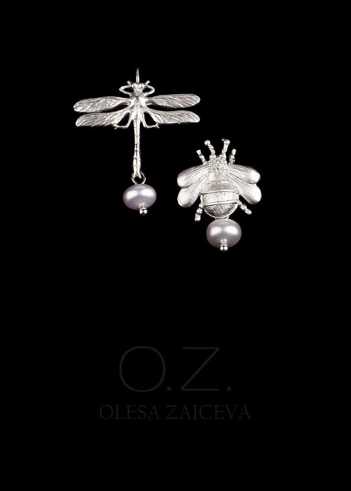 коллекция украшений, тренд, ювелирная бижутерия, авторские украшения, ракушки, серьги