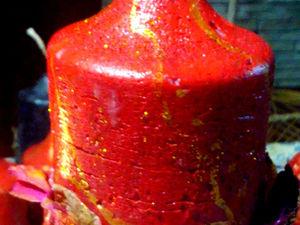 Моя свеча Священный атрушан. Ярмарка Мастеров - ручная работа, handmade.