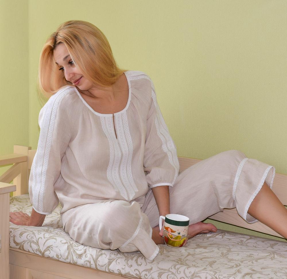 белье, льняная одежда, панталоны, винтажный стиль, домашняя одежда, белье для сна, бохо