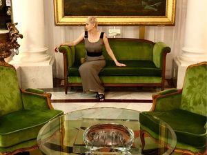 Отель Negresco и платье «Табак». Ярмарка Мастеров - ручная работа, handmade.
