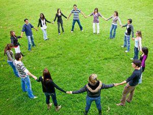 эстафета, друг, круг друзей, больше друзей