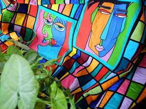 Одеяло пэчворк для влюбленных -  ОН И ОНА.   Ярмарка Мастеров - ручная работа, handmade