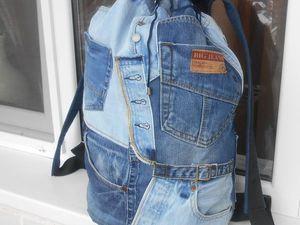 Большой походный или дорожный рюкзак.. Ярмарка Мастеров - ручная работа, handmade.