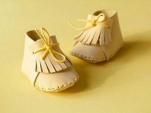 МК по крутым ботиночкам для куклы | Ярмарка Мастеров - ручная работа, handmade