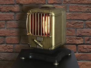 Светильник Steampunk Lamp. Ярмарка Мастеров - ручная работа, handmade.