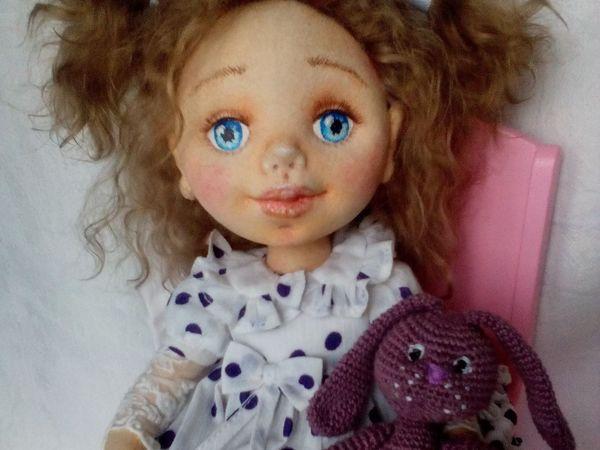 Девочка Оленька | Ярмарка Мастеров - ручная работа, handmade