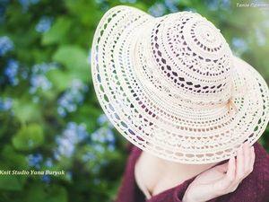 Как обращаться с вязаной шляпой. Видео   Ярмарка Мастеров - ручная работа, handmade