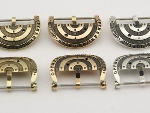 Серебро или бронза - какую пряжку выбрать для часов?. Ярмарка Мастеров - ручная работа, handmade.