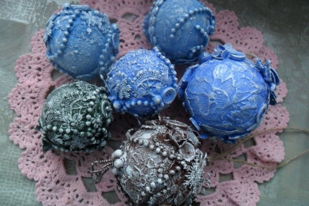 Christmas Decorations from Recycled Materials, фото № 28