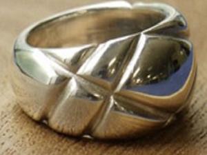 Делаем серебряное кольцо с текстурным рисунком. Ярмарка Мастеров - ручная работа, handmade.