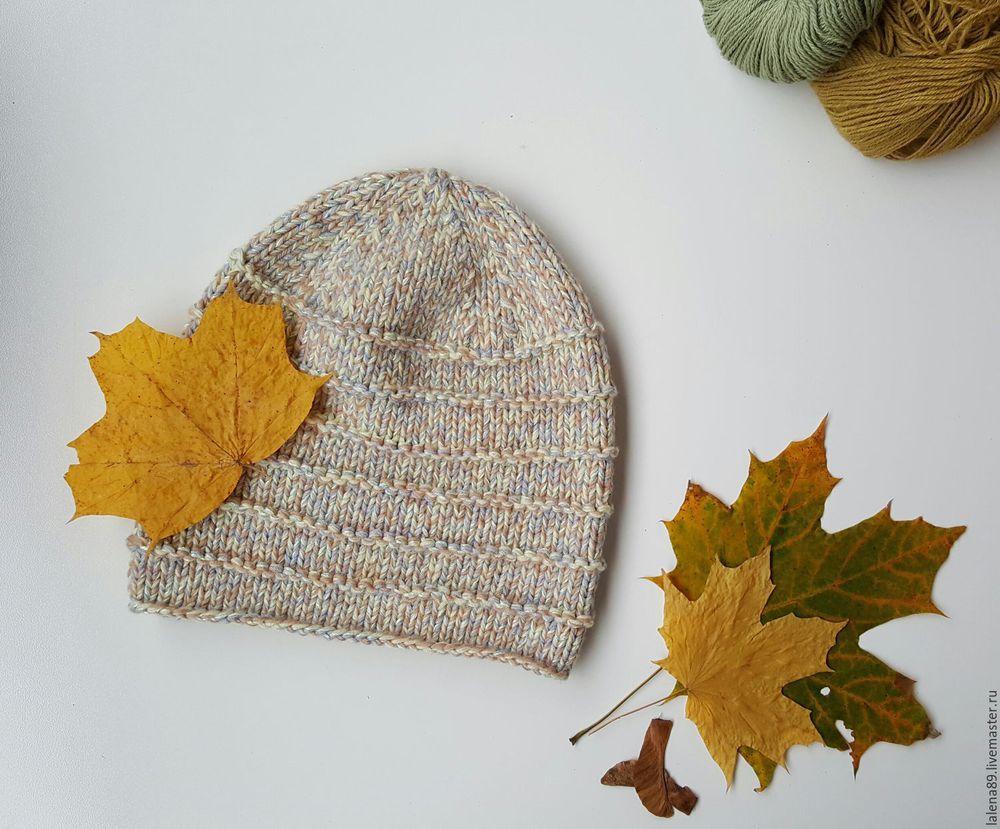 аукцион, лот, вязаная, шапка, шапочка, вязание на заказ, осень, осенняя мода, осенние аксессуары, акция магазина