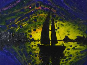 Как в абстракции рассмотреть закат. Ярмарка Мастеров - ручная работа, handmade.