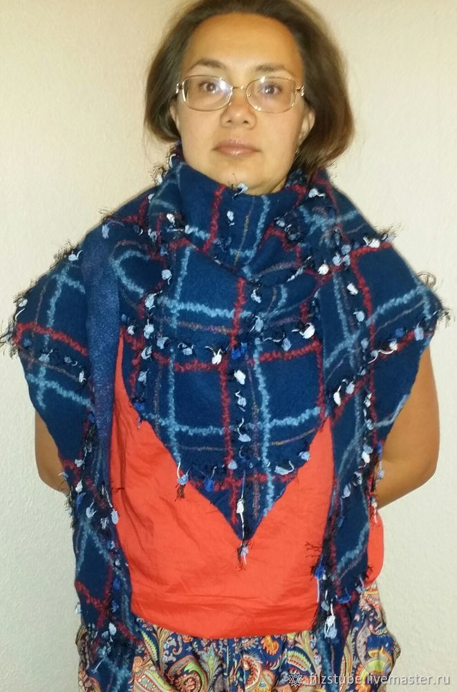 шарф своими руками