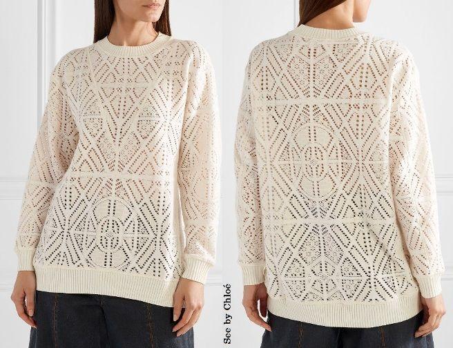 мода и стиль, ажурный свитер