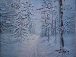 Зима | Ярмарка Мастеров - ручная работа, handmade