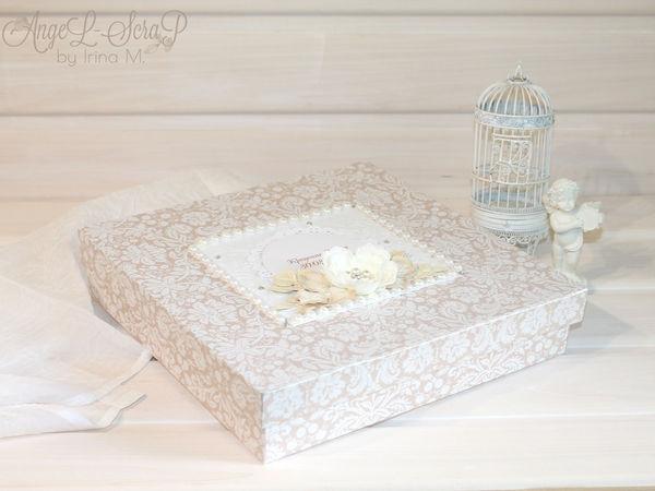 Обзор коробочки для хранения одежды с крестин | Ярмарка Мастеров - ручная работа, handmade