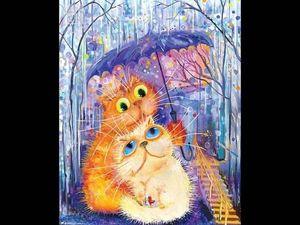 Кошачья жизнь - кошачьи чувства...   Ярмарка Мастеров - ручная работа, handmade