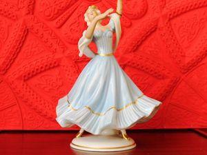 Фарфоровая статуэтка Танцовщица  на реставрацию. Ярмарка Мастеров - ручная работа, handmade.