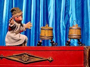 Перчаточный театр или чудеса за ширмой.. Ярмарка Мастеров - ручная работа, handmade.
