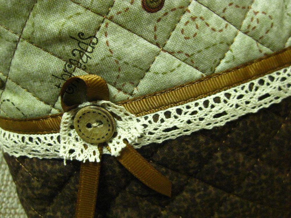 текстильная сумка, подарок своими руками