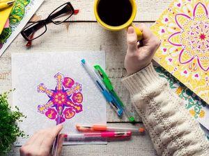 Рукоделие, антистресс, рисование — что же в этом общего?. Ярмарка Мастеров - ручная работа, handmade.