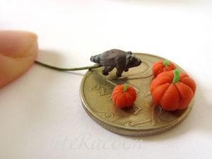 Енотовая неделя 3 - Микрошки-еношки. Ярмарка Мастеров - ручная работа, handmade.