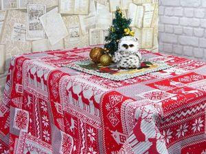 Самый большой выбор новогодних скатертей!!!. Ярмарка Мастеров - ручная работа, handmade.