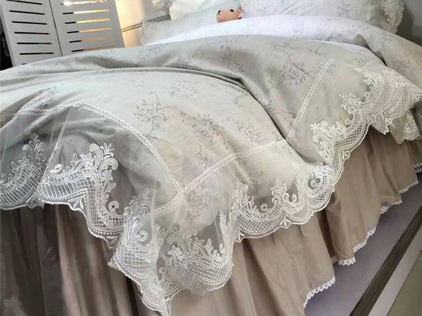 Новинка! Кружевное постельное белье с подзором. Дизайн №5 | Ярмарка Мастеров - ручная работа, handmade