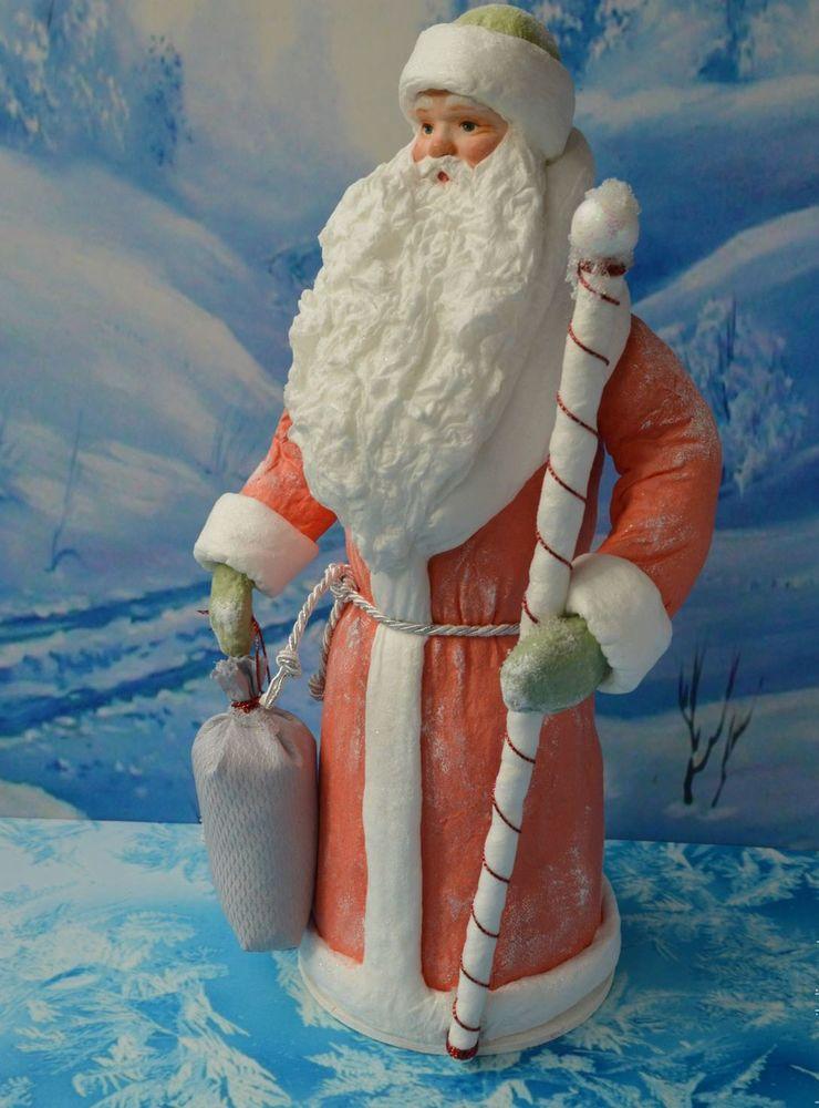 Ретро Дед Мороз из ваты. Родом из детства, фото № 3