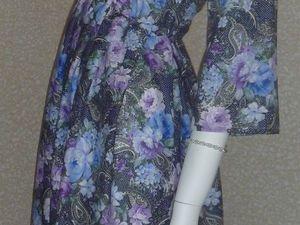 Экспресс-шитьё: создаем платье без выкройки. Ярмарка Мастеров - ручная работа, handmade.