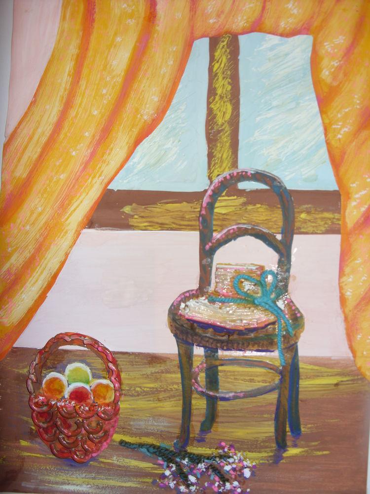 мастер-класс, панно, уроки живописи
