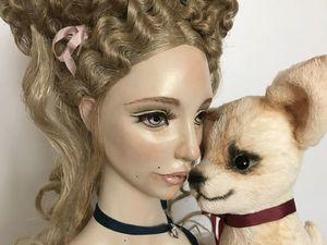 Луиза и Мими - новая большая будуарная кукла 95 см. Ярмарка Мастеров - ручная работа, handmade.