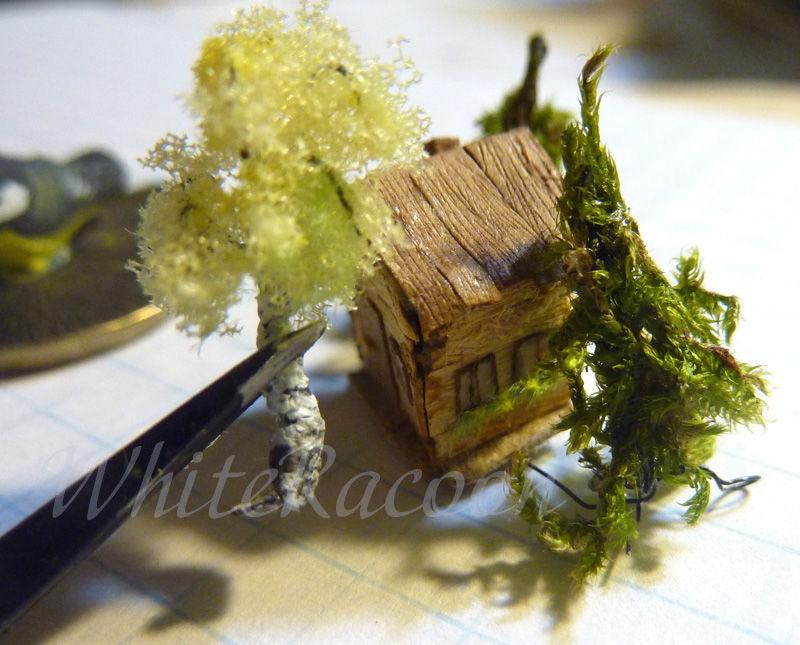 кулон с миниатюрой, микро миниатюра