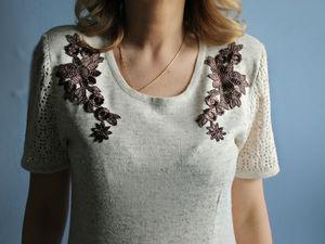 Аукцион на вязаное платье! Старт 1500 руб. Ярмарка Мастеров - ручная работа, handmade.