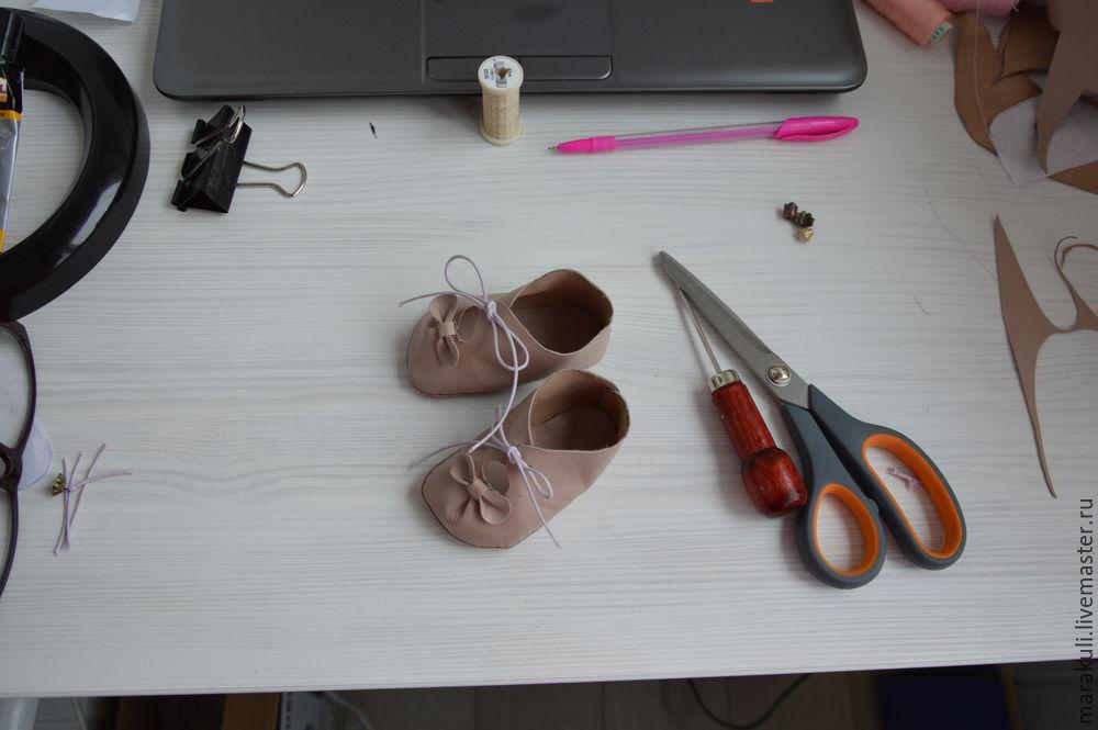 делаем туфельки