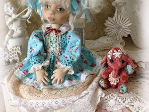 Натэлка, коллеционная текстильная куколка. | Ярмарка Мастеров - ручная работа, handmade
