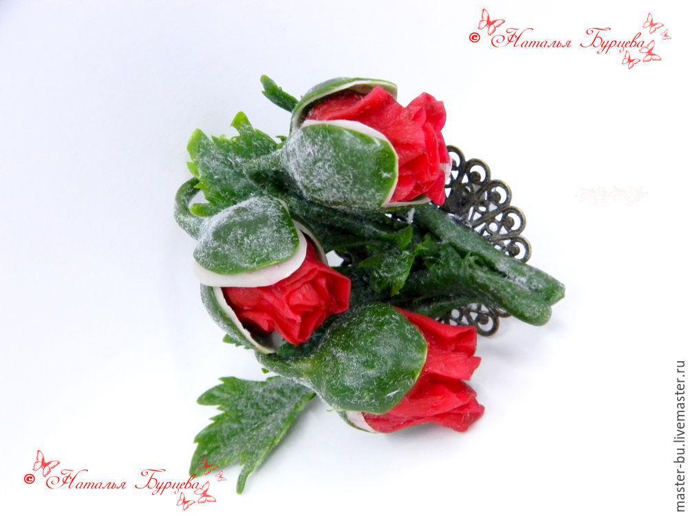 лепка цветов, цветы из полимерной глины, как лепить мак