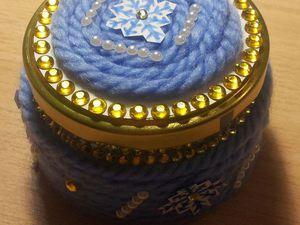 Новогодняя кубышка для мелочей: мастер-класс. Ярмарка Мастеров - ручная работа, handmade.