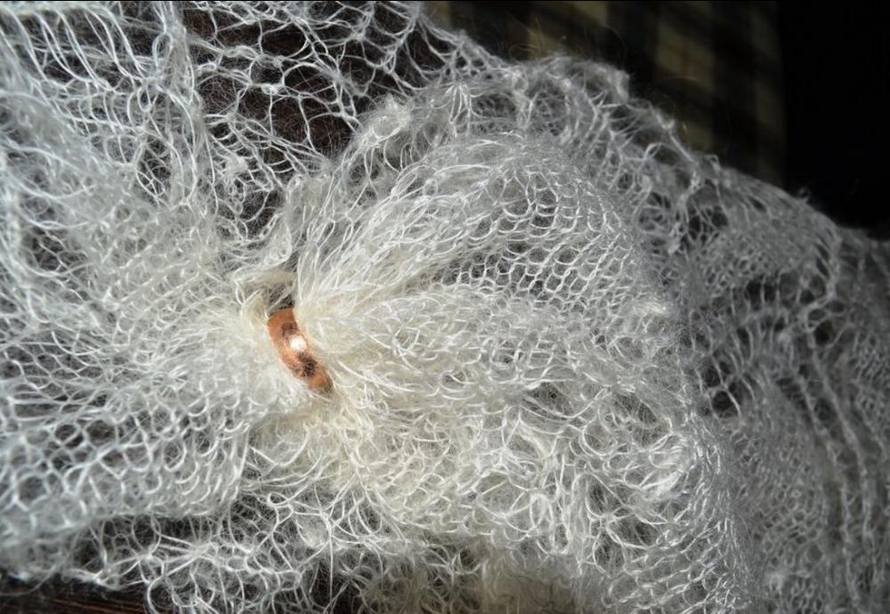 Как выбрать качественный и настоящий оренбургский пуховый платок, фото № 2