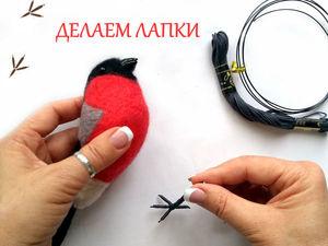 Как сделать реалистичные лапки для птички. Ярмарка Мастеров - ручная работа, handmade.