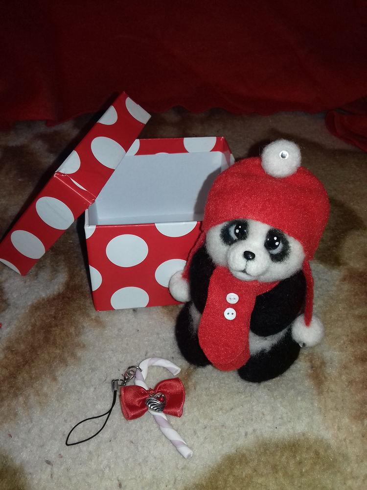 заказы, заказ, заказчик, панда, валяная игрушка, валяние из шерсти, игрушка ручной работы, игрушки из шерсти, игрушка из войлока